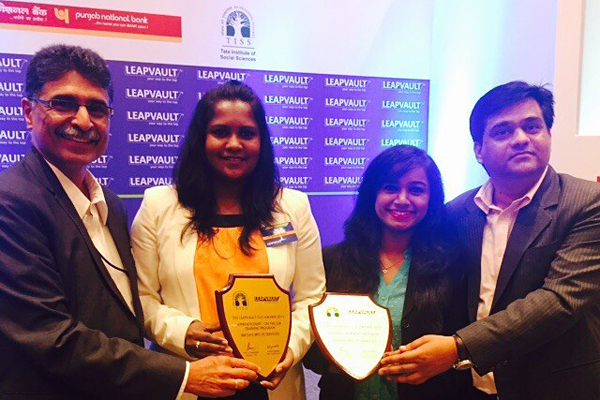 Infosys BPO Awards Winners at the Leapvault – CLO Summit India, Mumbai, 2015